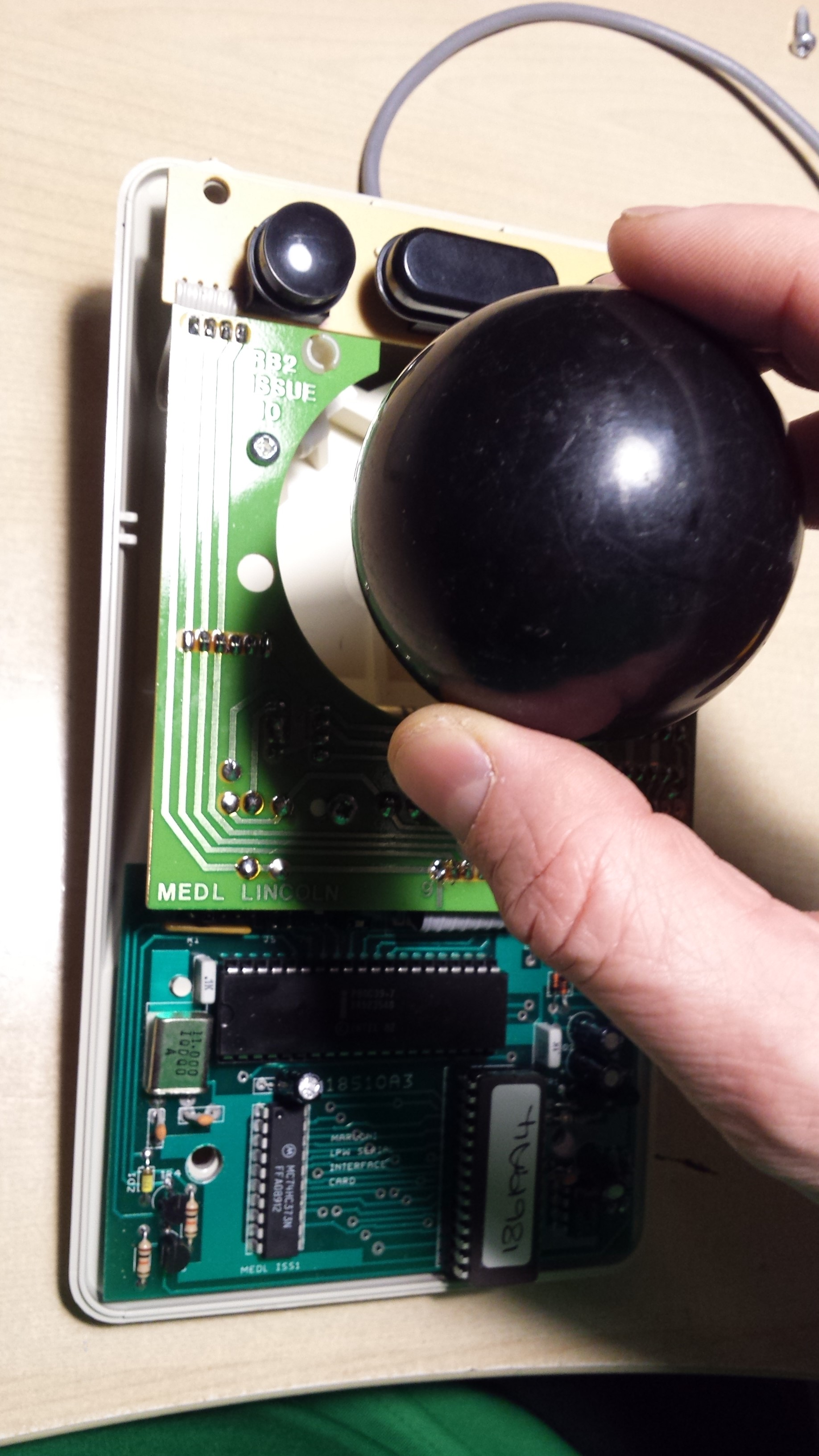 HDSDR trackerball VFO project – LB3HC's engineering blog
